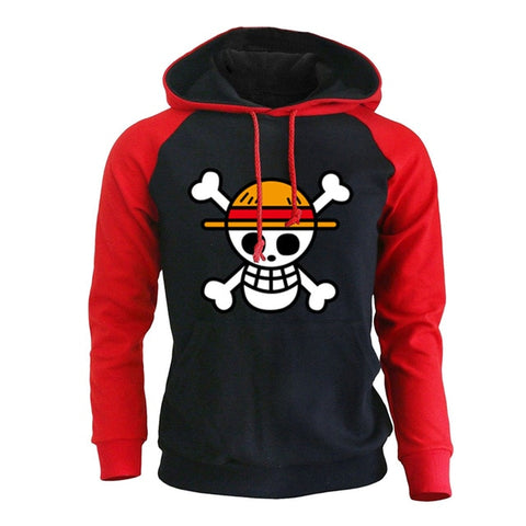 red hoodie one piece
