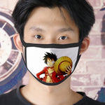 luffy face mask