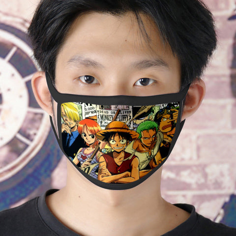 one piece face mask