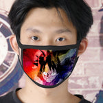 one piece luffy face mask