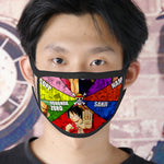 One Piece Face Mask <br> Straw Hat Pirates