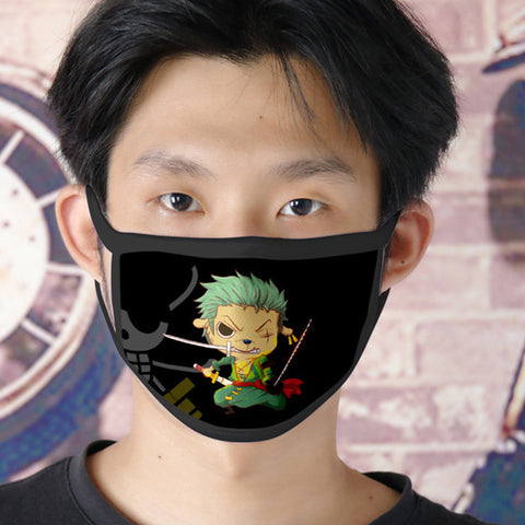 one piece roronoa zoro face mask