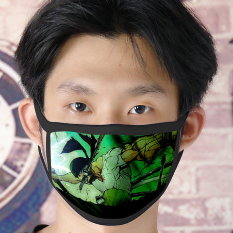 one piece zoro face mask