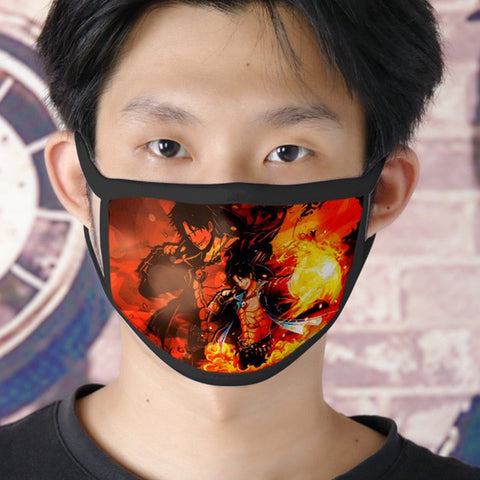 one piece ace face mask