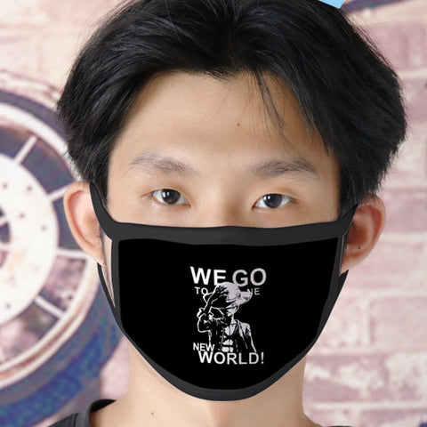 one piece monkey d luffy face mask
