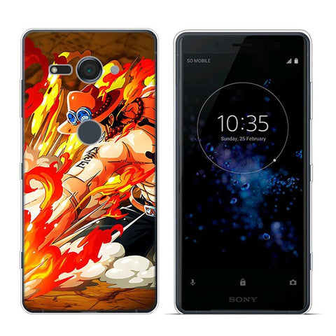 One Piece Sony Case <br> Fire Fist Ace