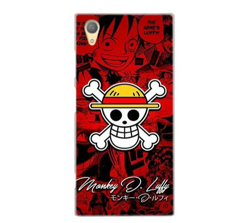 One Piece Sony Case <br> Straw Hat Jolly Roger
