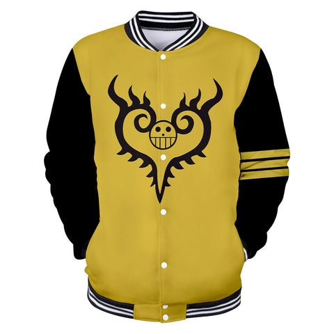 trafalgar law teddy vest