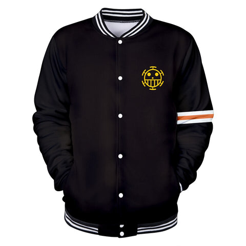 one piece law varsity jacket