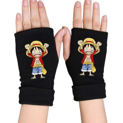 one piece luffy gloves