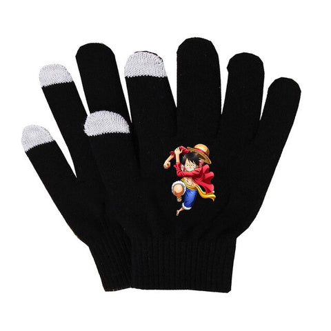 anime luffy gloves