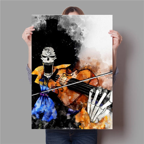 one piece brook canvas