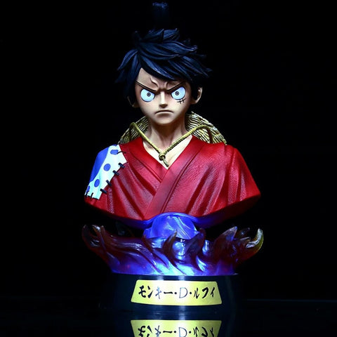 monkey d luffy wano statue