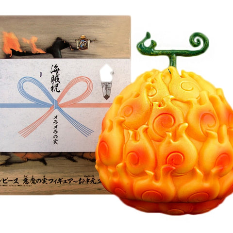 flame flame fruit figure