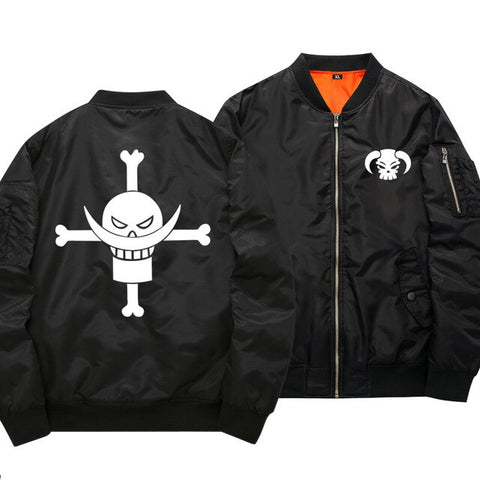 whitebeard bomber jacket