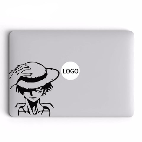 luffy laptop sticker