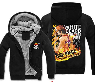 one piece ace jacket