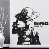 wall sticker luffy