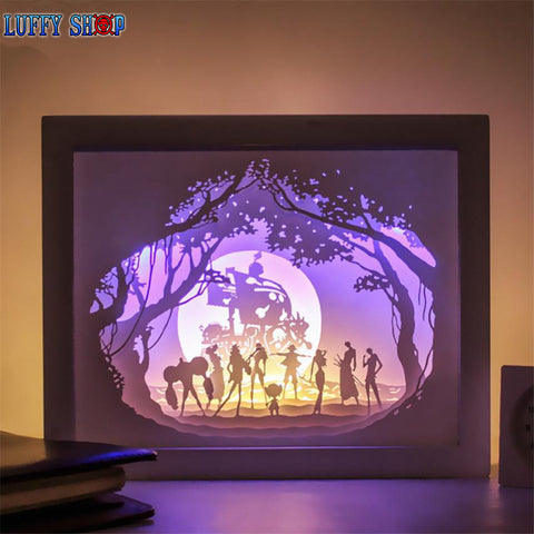 one piece led clock