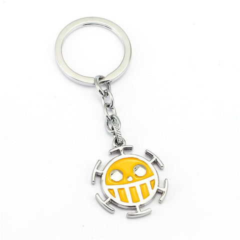one piece metal keychain