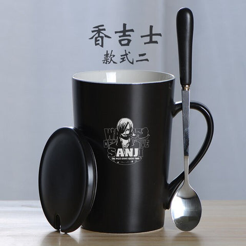 one piece anime coffee mug