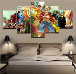 one piece canvas wall art