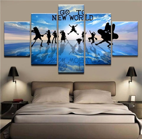 one piece canvas art