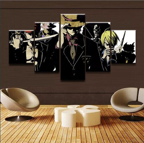 strong world one piece canvas
