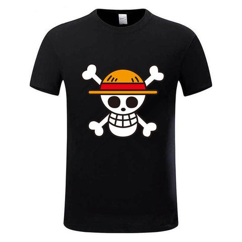 one piece logo t shirt