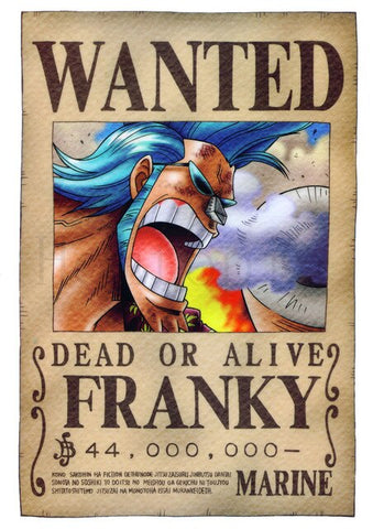 franky wanted poster