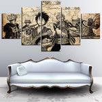 huge one piece canvas wall art