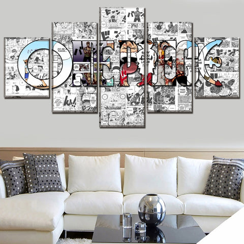 one piece wall art