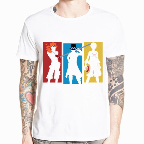 one piece sabo t shirt
