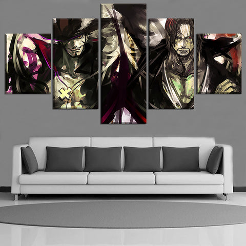 one piece anime canvas art