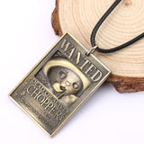 chopper wanted necklace