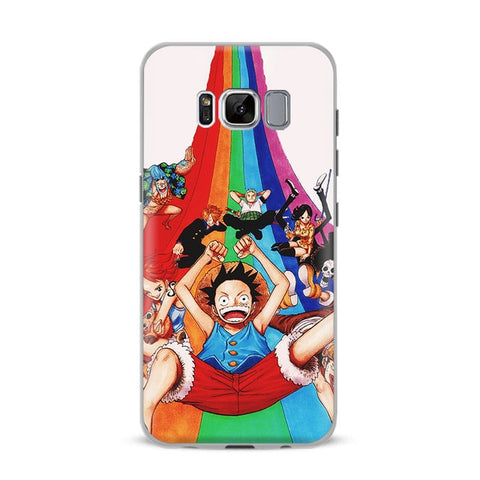 One Piece Phone Case Samsung <br> Rainbow Mugiwara - Luffy Shop