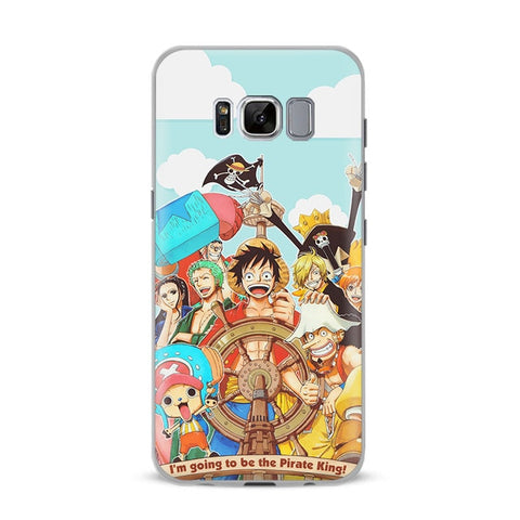 One Piece Phone Case Samsung <br> Mugiwara Crew - Luffy Shop