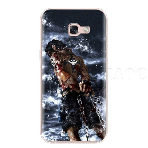 One Piece Phone Case Samsung <br> Ace Marineford - Luffy Shop