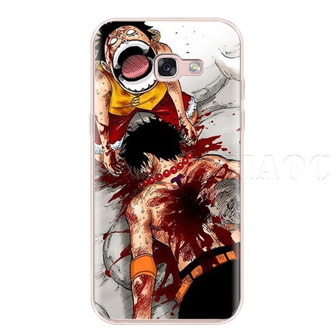 One Piece Phone Case Samsung <br> Ace Death - Luffy Shop