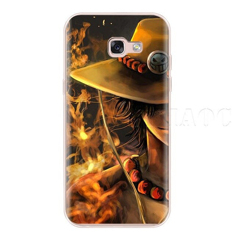 One Piece Phone Case Samsung <br> Ace's Hat - Luffy Shop