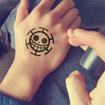 One Piece Tattoo <br> Trafalgar Law - Luffy Shop