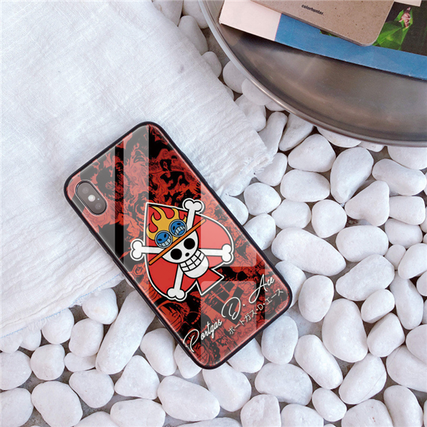 One Piece Jolly Roger Of Ace Anime 2 iphone case