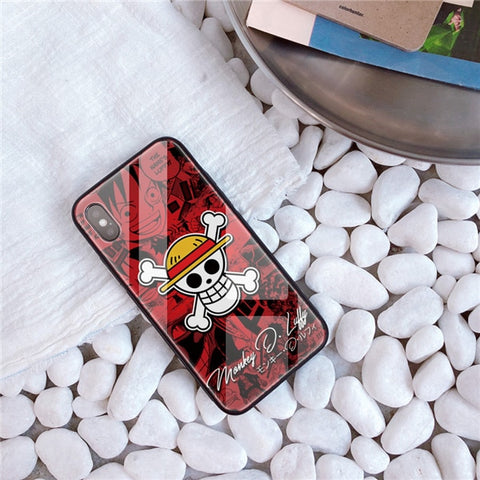 One Piece iPhone Case <br> Luffy Jolly Roger