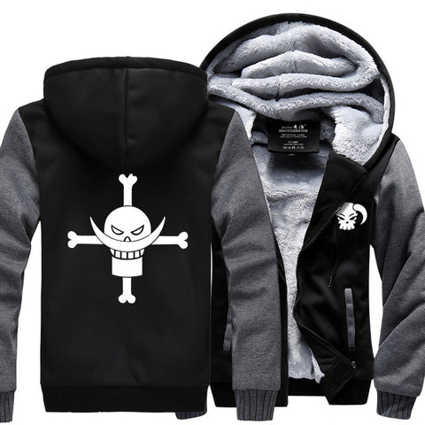 one piece whitebeard jacket