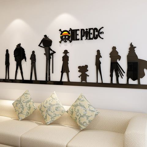 manga wall stickers