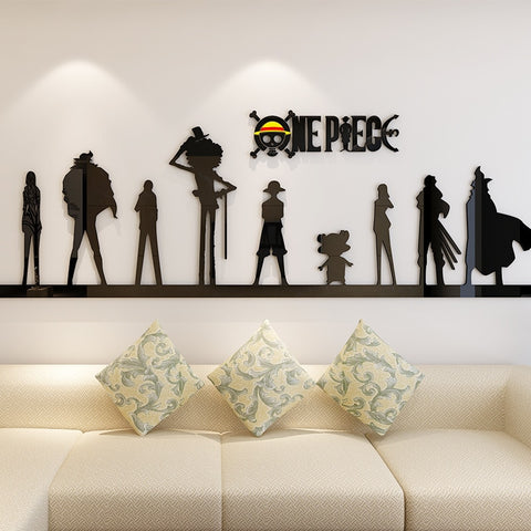 anime wall sticker one piece