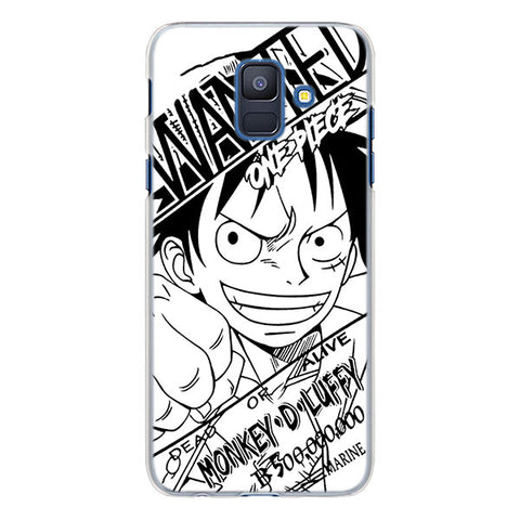 One Piece Phone Case Samsung <br> Luffy Wanted - Luffy Shop