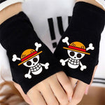 one piece anime gloves