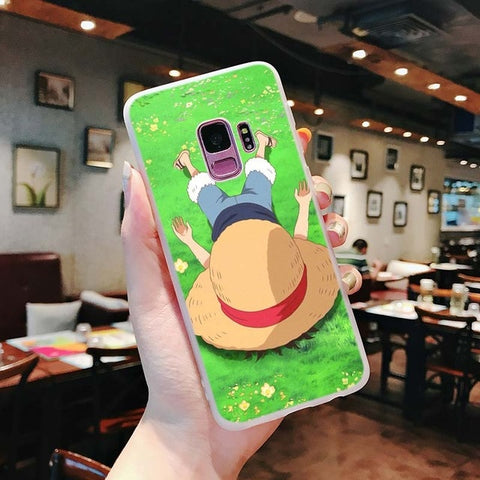One Piece Phone Case Samsung <br> Sleeping Luffy - Luffy Shop