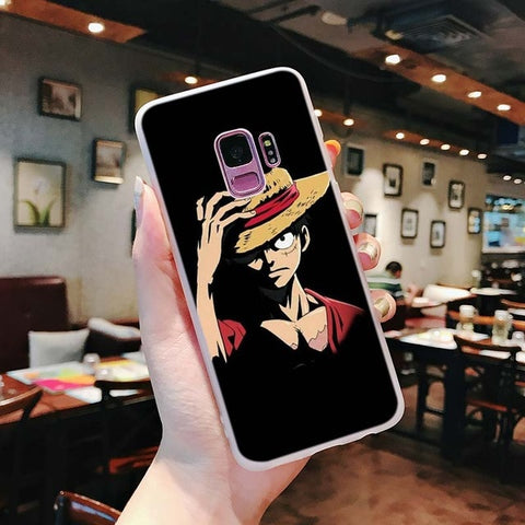 One Piece Phone Case Samsung <br> Serious Luffy - Luffy Shop